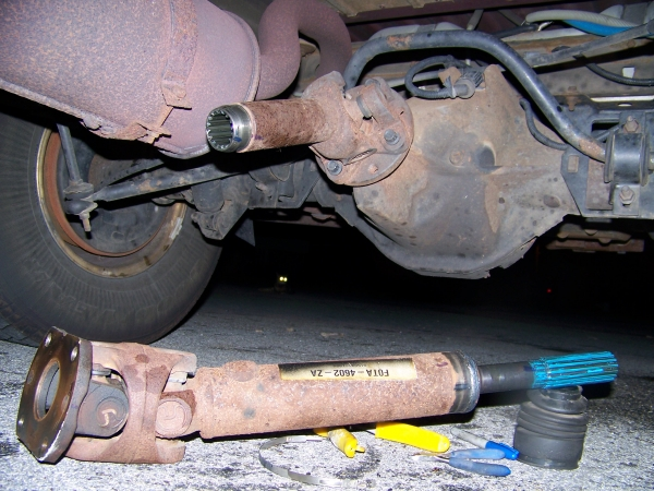 Ford Wausau How To Determine My Driveshaft - Ford Truck Enthusiasts Forums